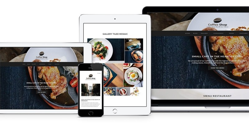 Coffee Shop - Pastry WP Theme