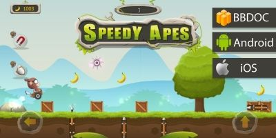 Speedy Apes Buildbox Template