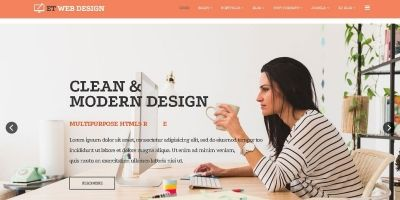 ET Web Design Joomla Template