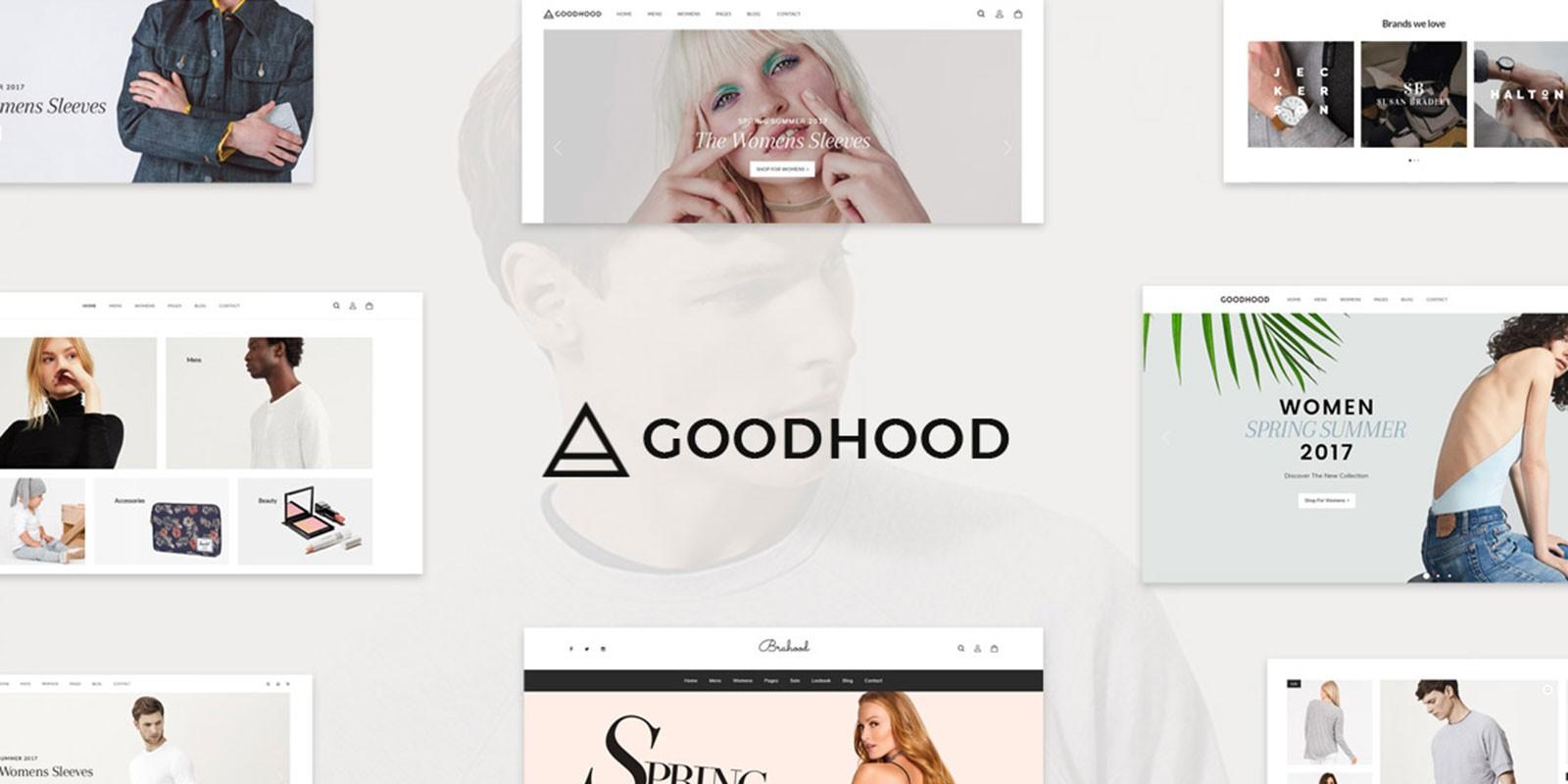 GoodHood WooCommerce Theme