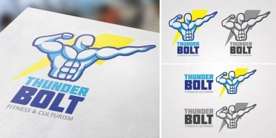 Thunder Bolt Logo