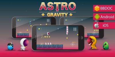 Astro Gravity Buildbox Template