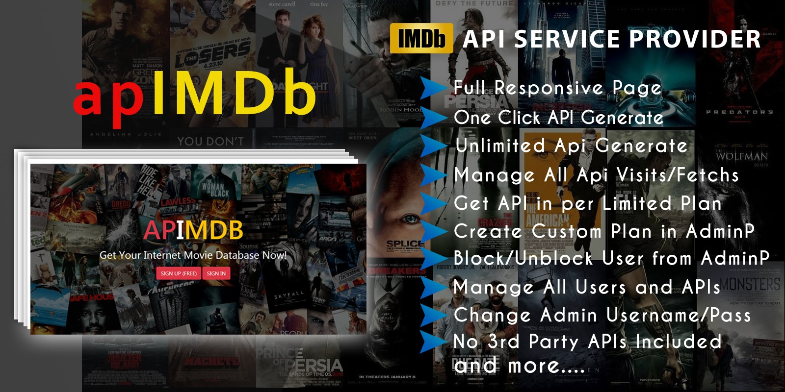 apIMDb - Internet Movie Database API