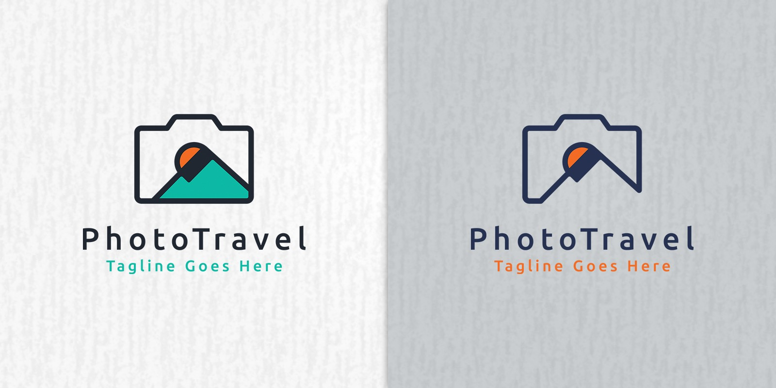 Photo Travel Logo Template