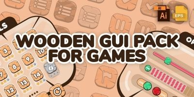 Wooden Theme GUI Pack