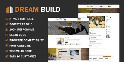 Dream Build HTML Template
