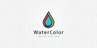 Water Color Logo