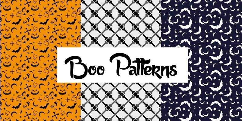 Boo Patterns