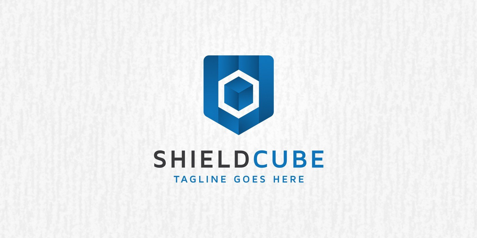 Shield Cube Logo