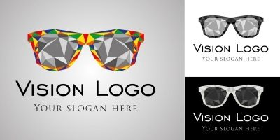 Logo Template vision