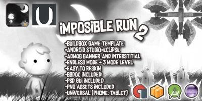 Imposible Run - Buildbox Template
