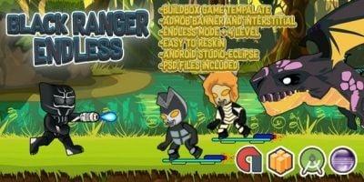 Black Ranger Endless - Buildbox Template