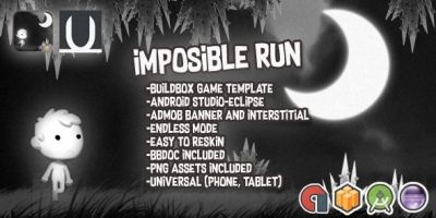 Imposible RUN - Buildbox Template