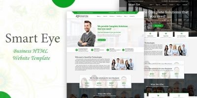 Smart Eye Business HTML Website Template