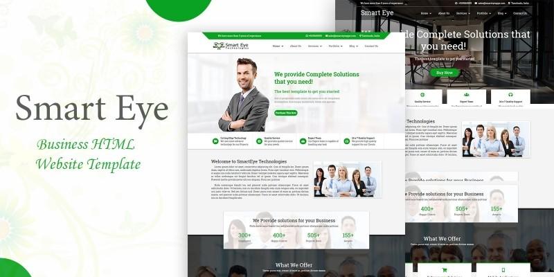 Smart Eye Business HTML Website Template