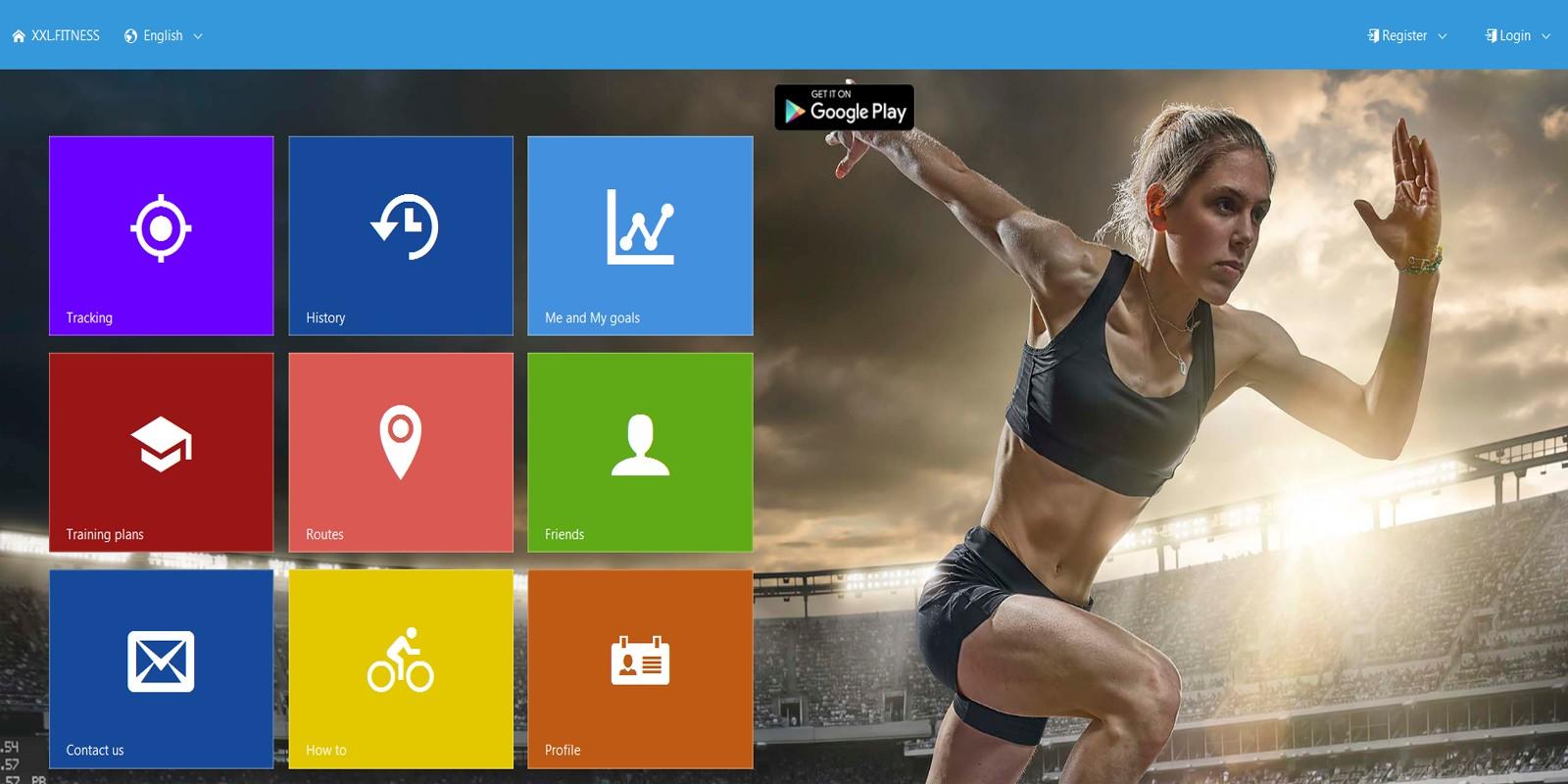 XXL Fitness Tracker - Cordova App Template