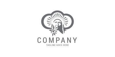 Native Indian Logo Template