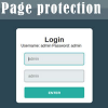 page-protection-with-login-without-sql