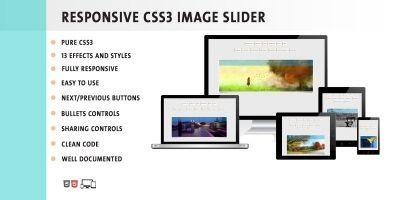 Sengapa Pure CSS3 Image Slider