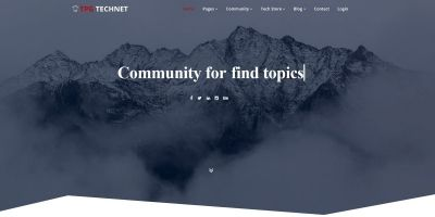 TPG Technet - Technology WordPress theme