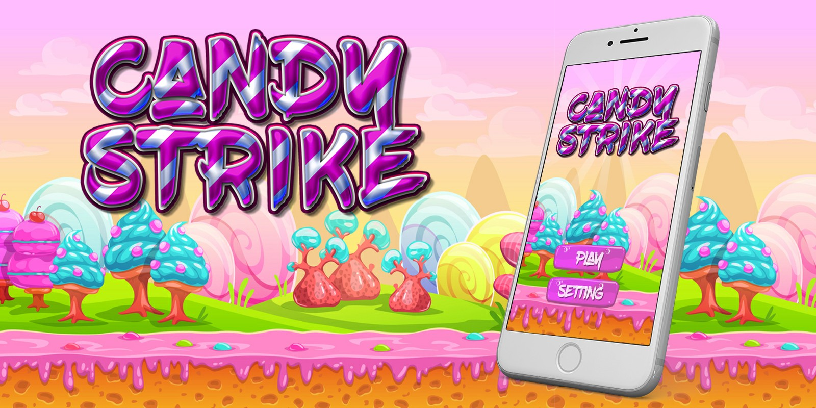 Candy Strike - Buildbox Game Template
