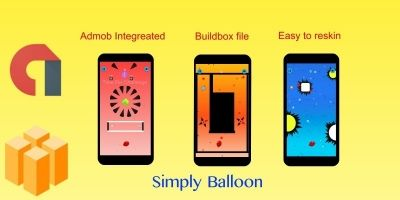 Simply Balloon Buildbox Template