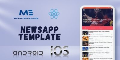 NewsApp Template - React native