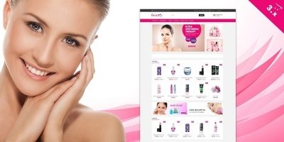 Beauty OpenCart Website Theme