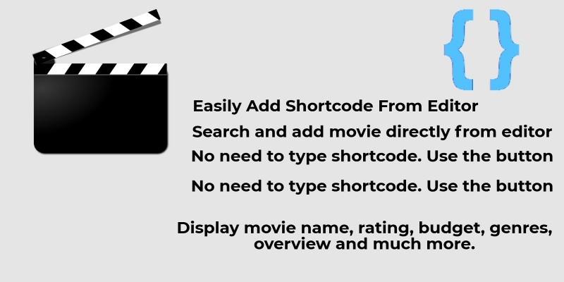 IMDB Movie Shortcode WordPress Plugin Using TMDB