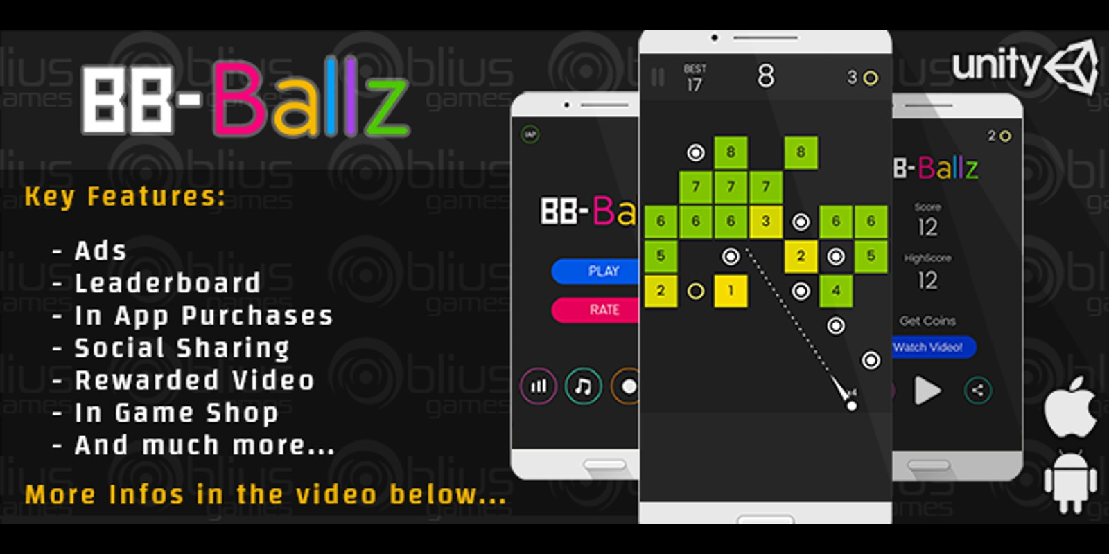 BB Ballz - Unity Game Template