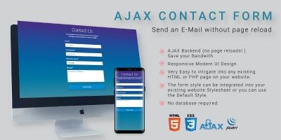 AJAX Contact Form PHP