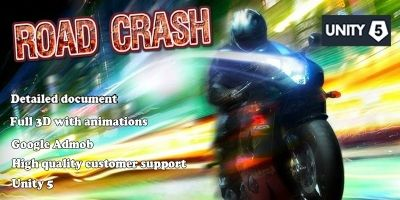 Road Crash - Full Unity Project