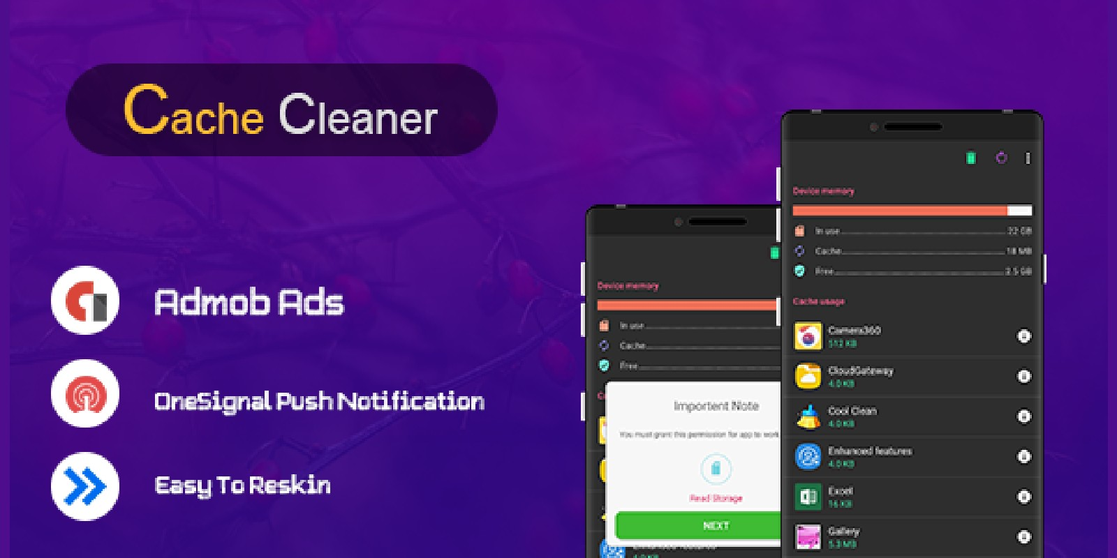 Device Cache Cleaner - Android App Source Code