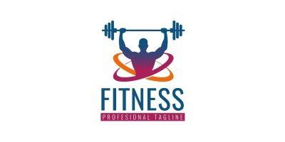 Gymnasium Fitness Logo