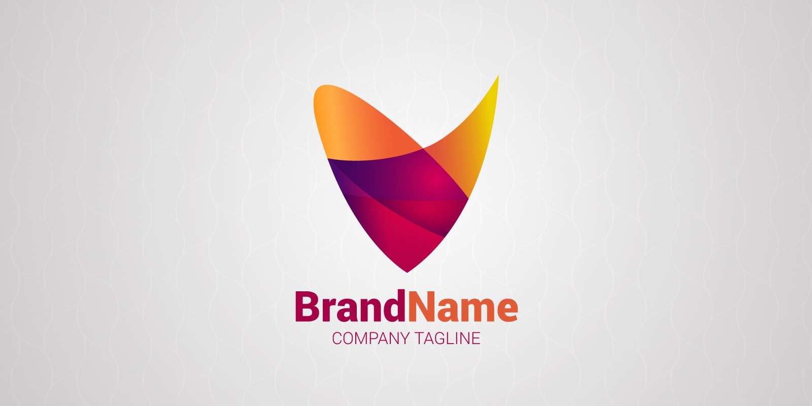 Colourful Gradient Logo