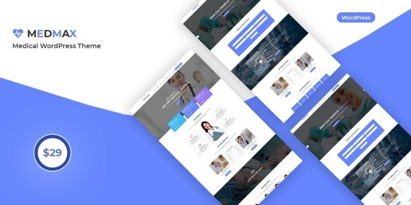Medmax - Medical WordPress Theme