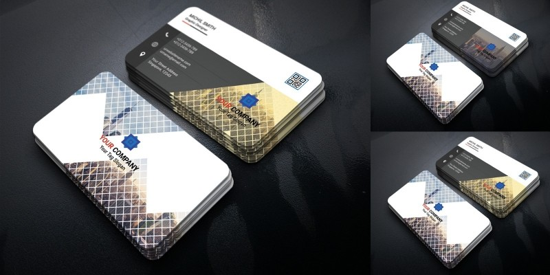 Modern & Clean Business Card
