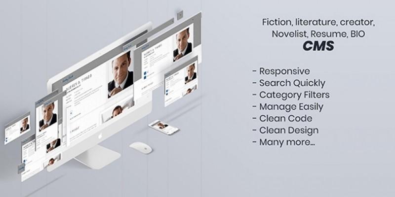 Writer - Resume CMS PHP