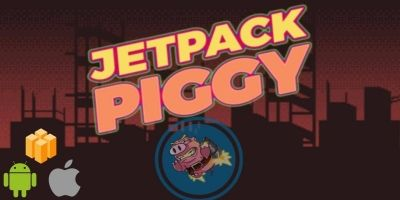 Jetpack Piggy Buildbox Template