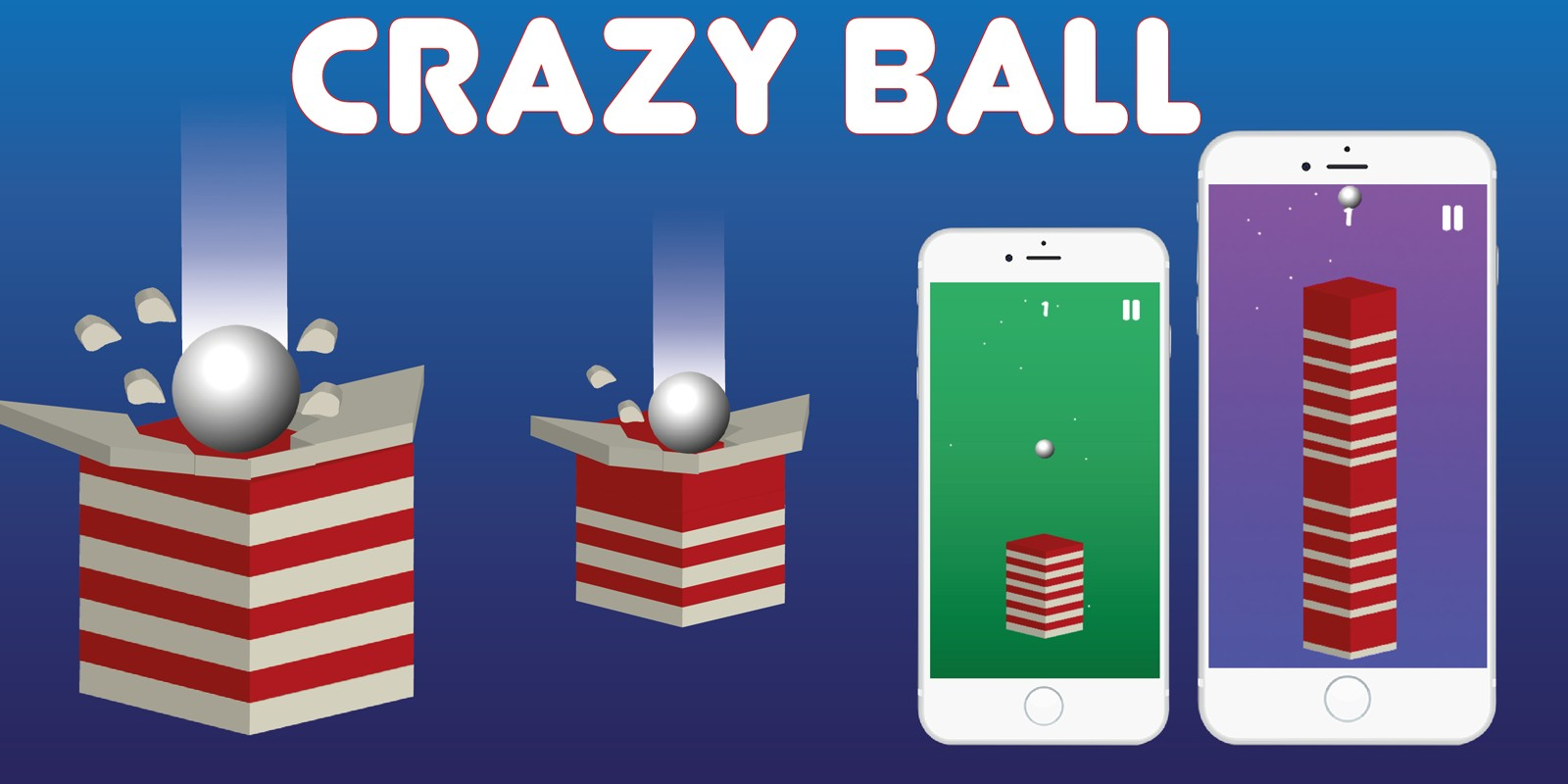 Crazy Ball - Buildbox Template