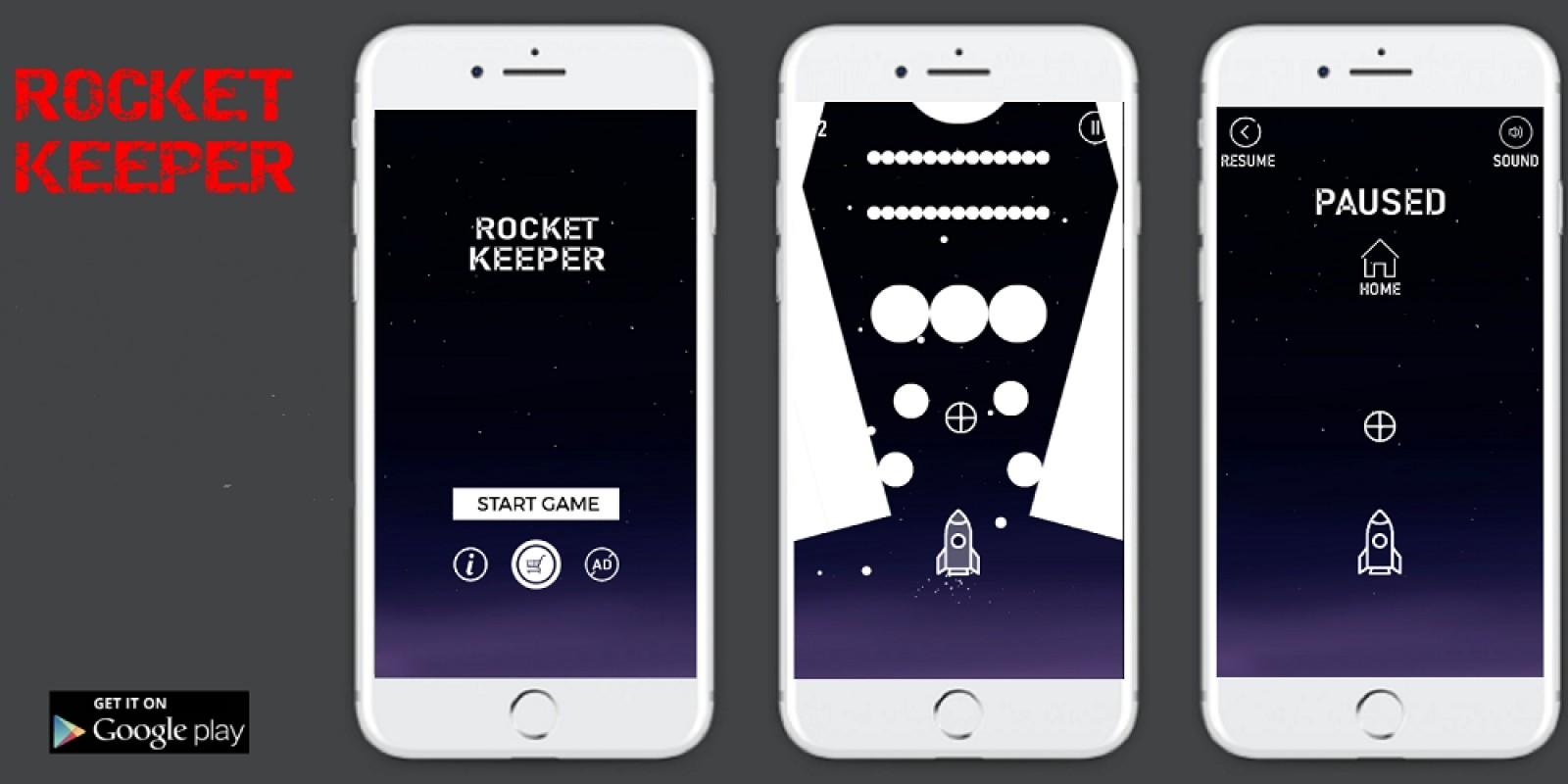 Rocket Keeper - Buildbox Template