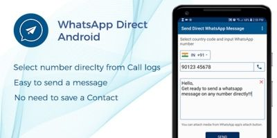 WhatsApp Direct - Android App Source Code