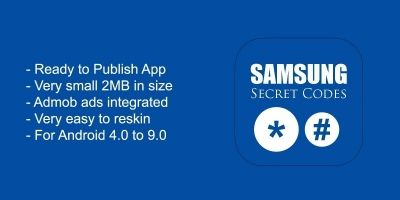 Samsung Secret Codes - Android Source Code