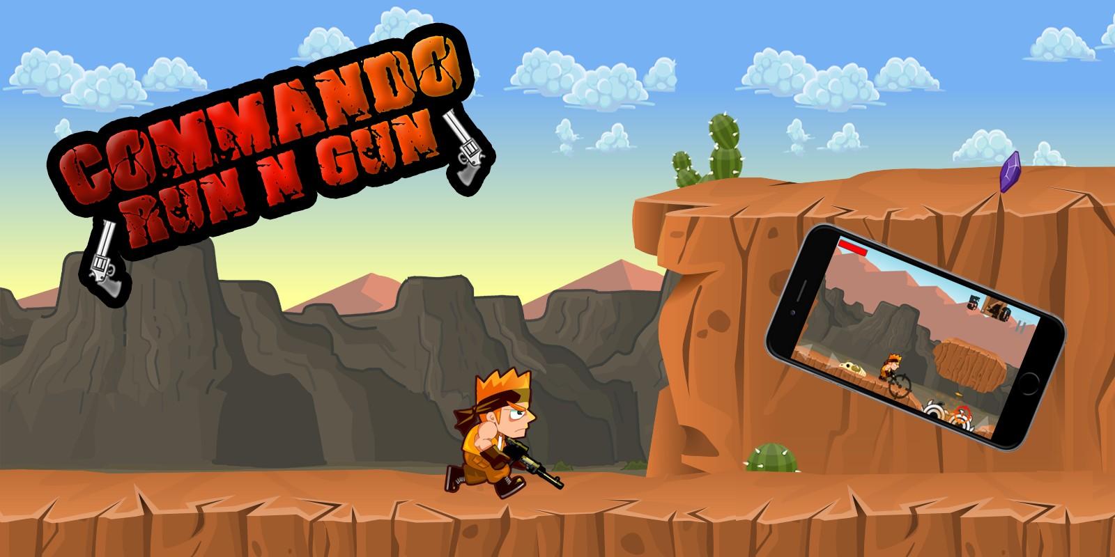 Commando - Buildbox Template