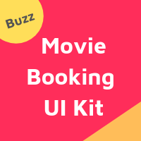 Buzz - Android Studio Movie Booking UI Kit