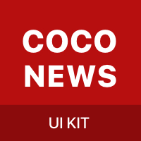 CoCo News - Android UI Kit