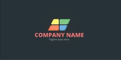 Rhombus Colorful Logo
