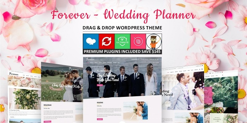 Forever - Wedding Planner WordPress Theme