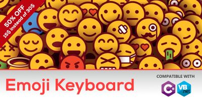 Emoji Keyboard In C# .NET