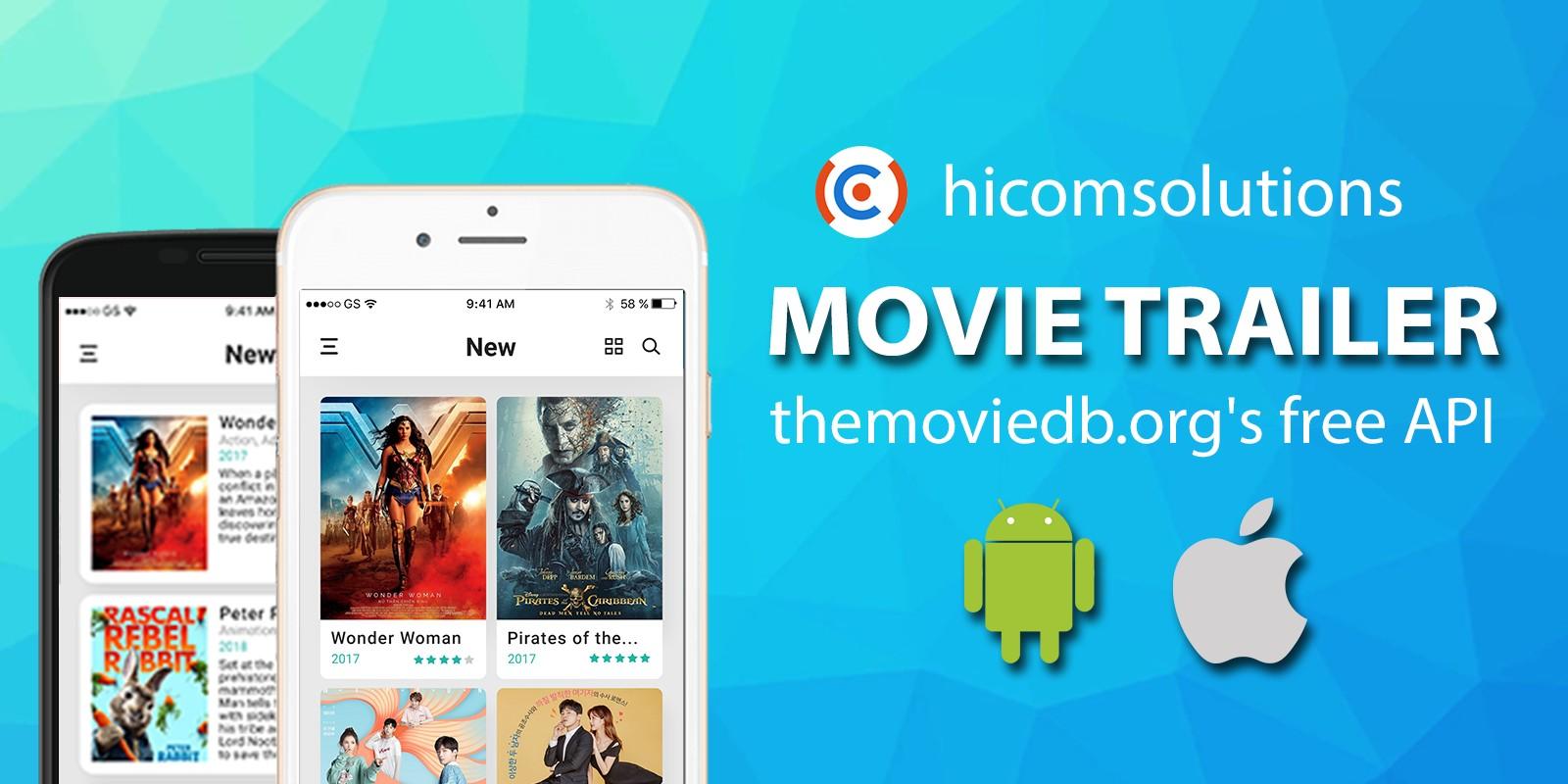 Movie Trailer TMDb Android App Template